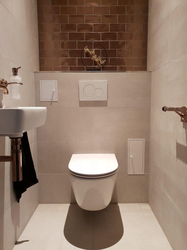 Luxe toilet in Surhuisterveen