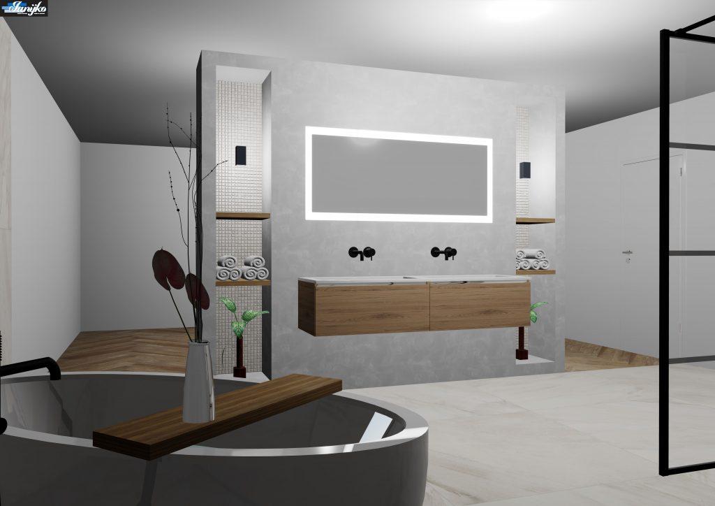 Ludwig badkamer ontwerp